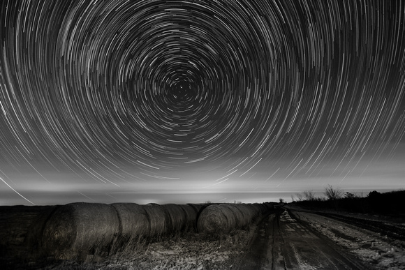 Star Trails, The Wilds, Muskingum County, Ohio, December 7, 2018