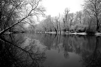 Olentangy River, Franklin County, Ohio, December 17, 2020